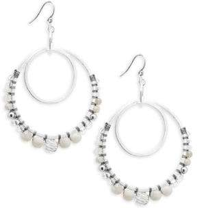 Chan Luu Multi-Stone, Crystal & Sterling Silver Drop Earrings