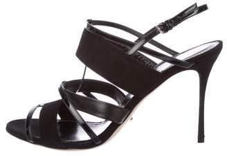 Sergio Rossi Multistrap T-Strap Sandals