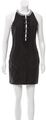 Isabel Marant Sleeveless Wool-Blend Dress