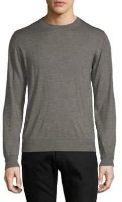 Brioni Cashmere & Silk Crewneck Sweater