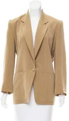 Donna Karan Structured Silk Jacket