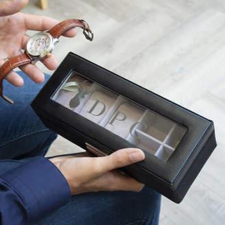 Keepsake Solesmith Men's Personalised Stag Watch Box