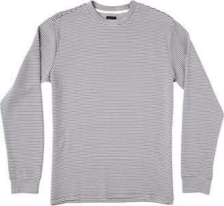 RVCA Men's Manc Stripe Long Sleeve T-Shirt