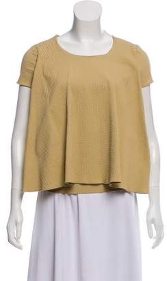 Hache Short Sleeve Crew Neck Top w/ Tags