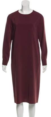 Golden Goose Long Sleeve Midi Dress