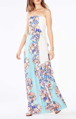 BCBGMAXAZRIA Grace Floral-Print Maxi Dress