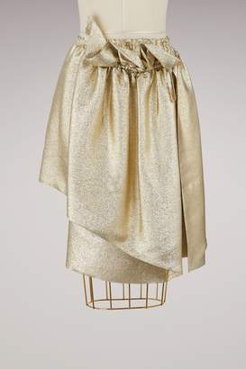 Stella McCartney Stella Mc Cartney Brynn metallic skirt