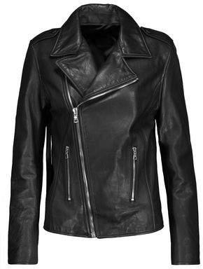 RtA Morisson Fringed Leather Biker Jacket