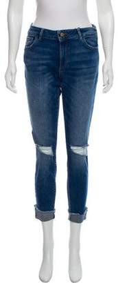 DL1961 Florence Mid-Rise Cropped Jeans w/ Tags