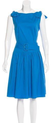 pradaPrada Sleeveless A-Line Dress