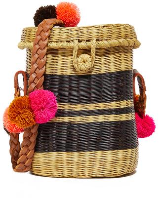 Sophie Anderson Flores Basket Bag $285 thestylecure.com