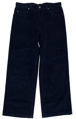 Marc Jacobs Flat Front Corduroy Pants