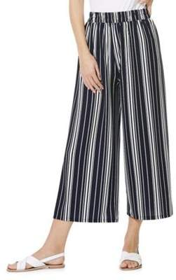Izabel London Striped Culottes 10