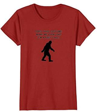 Bigfoot Silhouette With Text T-Shirt