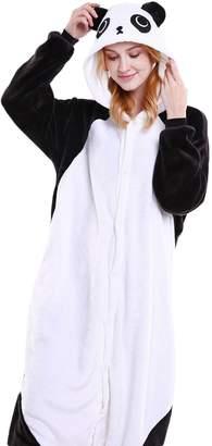 ZumZup Pajama Adult Onesie 32 Animals Sleepsuit Unisex Flannels Hooded Cute Unique
