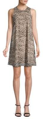 Calvin Klein Animal-Print Shift Dress