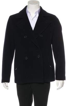 Prada Sport Wool Short Peacoat