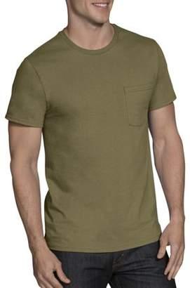 Fruit of the Loom Men's Assorted Color Pocket T-Shirts, 4 Pack