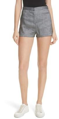 Milly Trudee High Waist Shorts