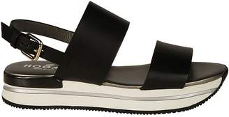 Hogan H257 Wedge Sandals