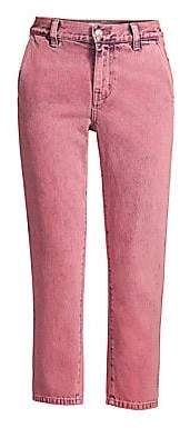 Current/Elliott Women's The Confidant Cropped Jeans