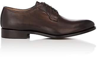 Barneys New York Men's Burnished Leather Bluchers