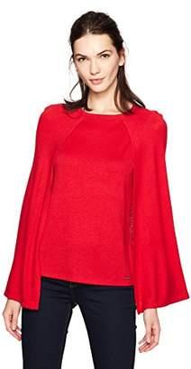 Calvin Klein Women's Short Cape Top