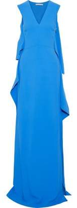 Antonio Berardi Draped Cady Gown