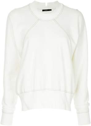 Bassike classic long-sleeve sweatshirt