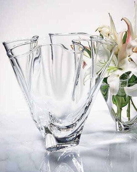Steuben Handkerchief Vase, Large