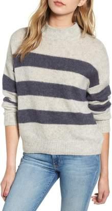 Rails Ellise Stripe Silk & Cashmere Blend Sweater