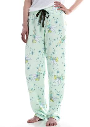 Juniors' Tinker Bell Plush Pajama Pants