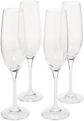 Oneida Set of 4 Classic Champagne Flutes