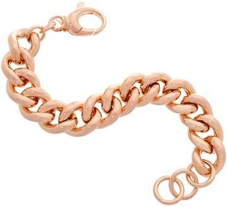 Bronzo Italia Curb Link Bronze Bracelet