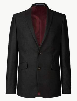 Marks and Spencer Charcoal Modern Slim Fit Jacket