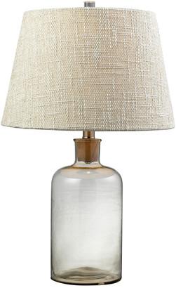 clear Elk Lighting Glass Bottle Led Table Lamp