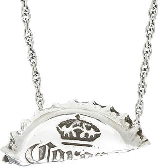 Cast Of Vices Cast of Vices Sterling Silver Beer Bottle Cap Necklace