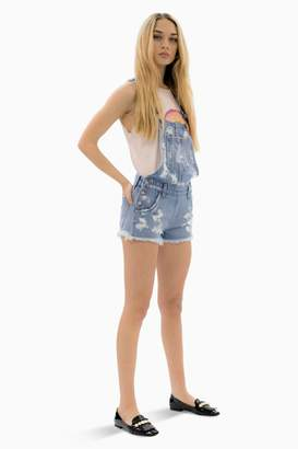 Siwy Tia In Here Comes The Sun Overall Short