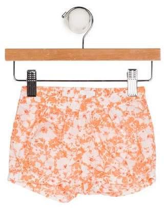 Chloé Girls' Floral Print Shorts