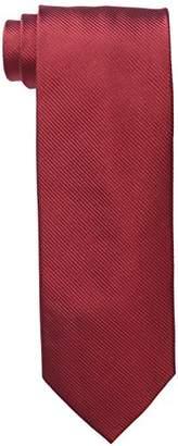 Piattelli Bruno Men's Big & Tall Extra-Long Solid Silk Tie