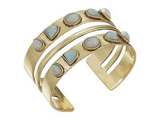 Lucky Brand Double Stone Cuff Bracelet