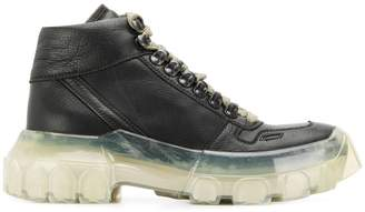 Rick Owens larry tractor sneakers