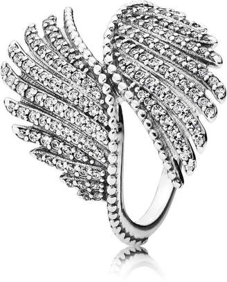 Pandora Majestic Feathers Ring - Sterling Silver