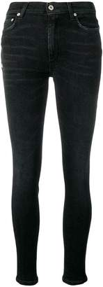 Heron Preston faded skinny cropped jeans