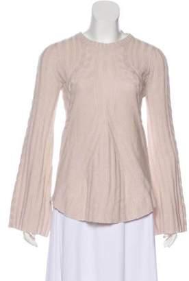 Autumn Cashmere Lightweight Bell Sleeve Sweater w/ Tags Khaki Lightweight Bell Sleeve Sweater w/ Tags