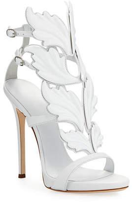 Giuseppe Zanotti Coline Wings Suede Sandals