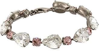 Sorrelli Crystal Rose Perfect Pair Bracelet