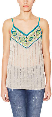 Kas Angeni Beaded Tank Top
