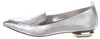 Nicholas Kirkwood Beya Metallic Loafers