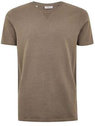 Topman Mens SELECTED HOMME Brown T-Shirt